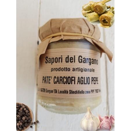 PESTO DI CARCIOFI AGLIO E PEPE 180 gr