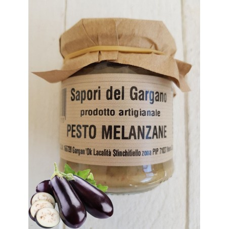 PESTO DI MELANZANE 180 gr