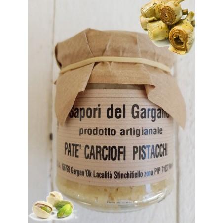 PESTO DI CARCIOFI E PISTACCHI 180 gr