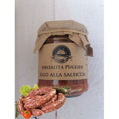SUGO ALLA SALSICCIA 180gr