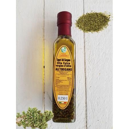 Olio Extra vergine d'oliva all'origano