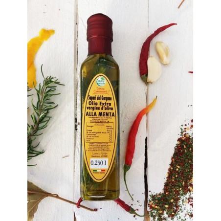 Olio Extra vergine d'oliva alla menta