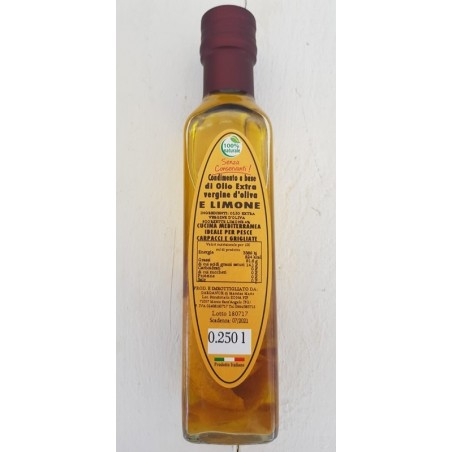 Olio Extra vergine d'oliva al limone