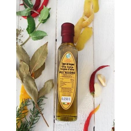 Olio Extra vergine d'oliva all'alloro