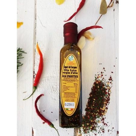 Olio Extra vergine d'oliva alla spaghettata