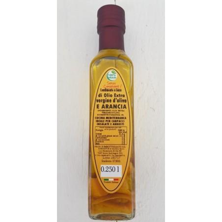 Olio Extra vergine d'oliva all'arancia
