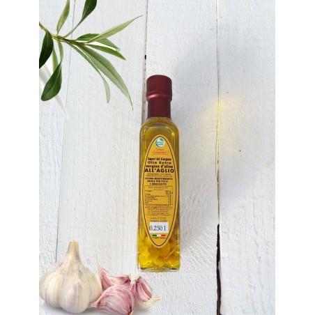Olio Extra vergine d'oliva all'aglio