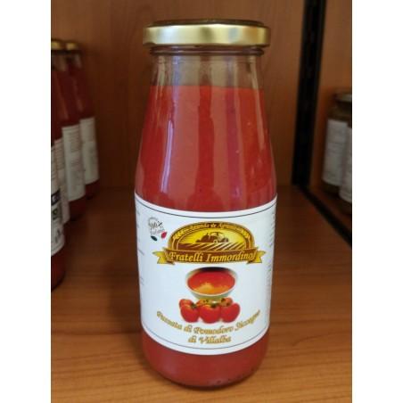 Bottiglie Passata di pomodoro siccagno di Villalba 446gr