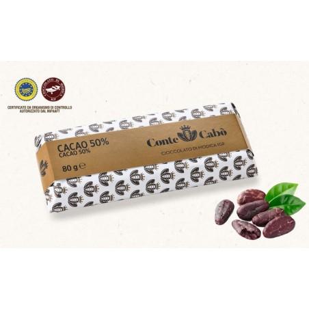 Cioccolato di Modica IGP al 50% di cacao