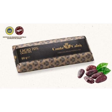 Cioccolato di Modica IGP al 70% di cacao