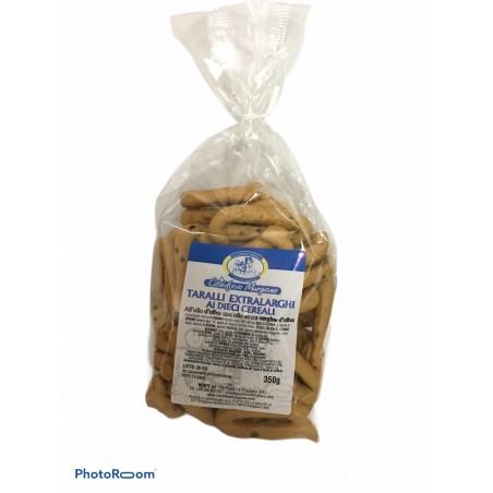 Taralli artigianali ai 10 cereali 350gr