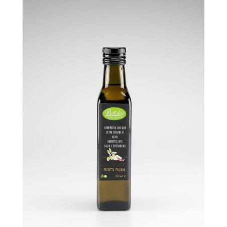Olio Extra Verg. Aroma Aglio e Peperoncino 0,25 lt
