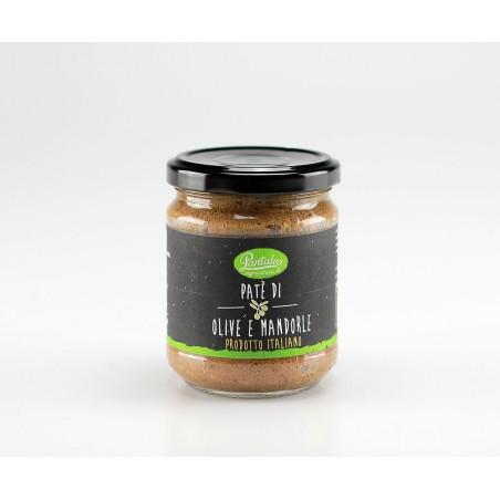 Pate' Di Olive E Mandorle 195 g