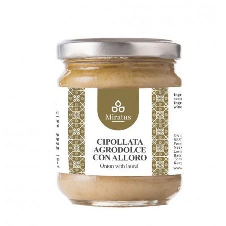 Cipollata in agrodolce con alloro 212ml