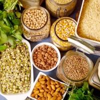 Verdure, legumi e cereali